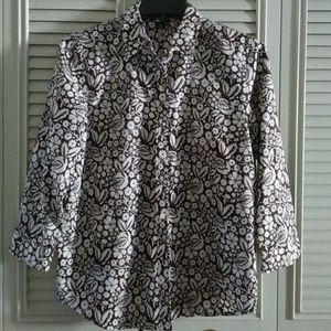 Ralph Lauren floral print shirt